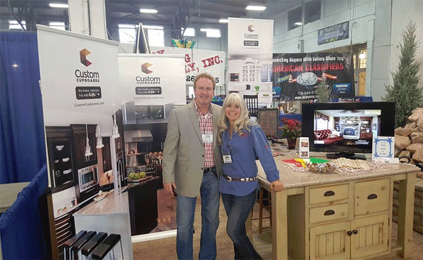 Jim Reeves & Shelly Lisac at the 2016 Show